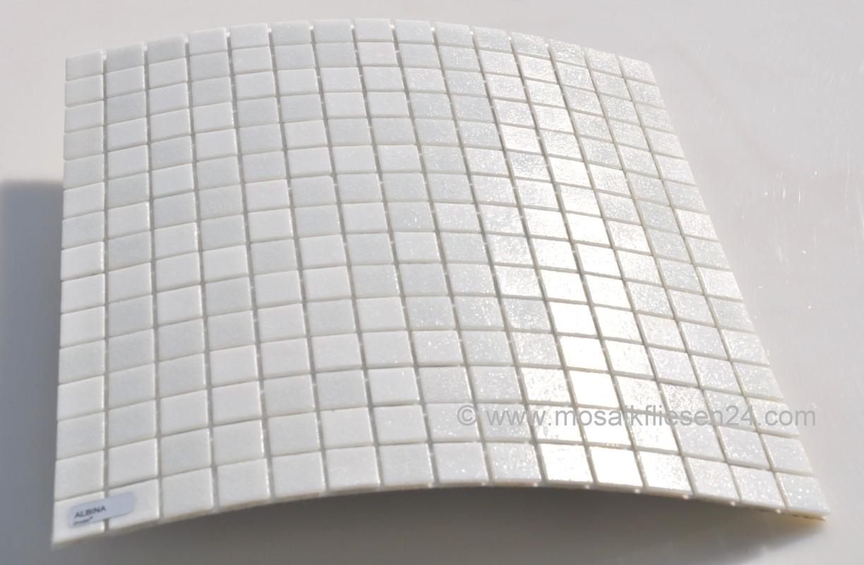 mosaikfliesen weiss - glasmosaik, keramikmosaik, crystal mosaik - Weisse Kche Mit Mosaikfliesen