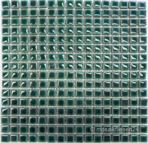 Mosaikfliesen grün  Mosaikfliesen GRÜN Glasmosaik Keramikmosaik Naturstein Crystal