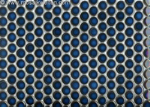 Knopfmosaik Rundmosaik Keramik Mosaik Rund Mosaikfliesen - Fliesen mosaik rund