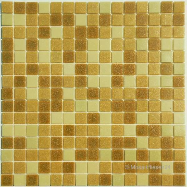 1 Karton/ 1,03 qm Glasmosaik Elements SANDRO beige
