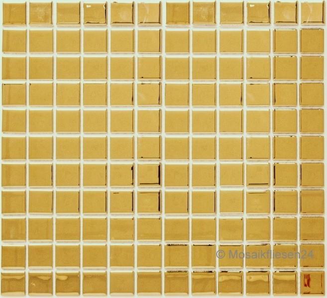 Mosaikfliesen Gold Glasmosaik Keramik Crystal Mosaik Fliesen
