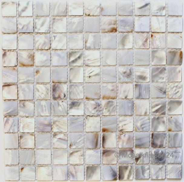 Perlmuttmosaik Muschelmosaik Mosaikfliesen Mit Perlmutt
