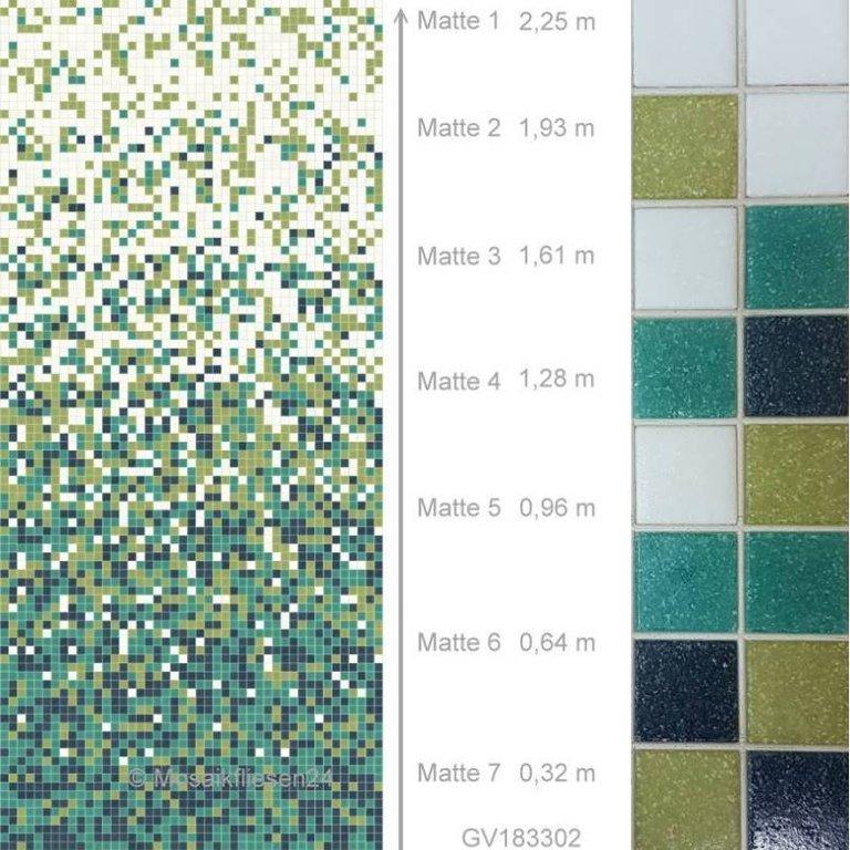 Mosaikfliesen Grun Glasmosaik Keramik Naturstein Mosaik Fliesen