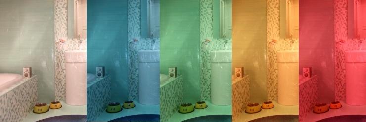 Mosaiklfliesen24 Farbfächer Mosaik